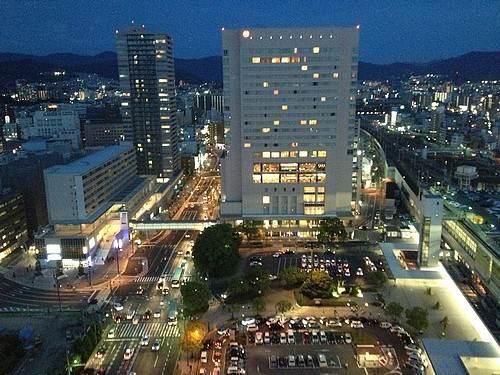 2013年8月の広島駅北口
