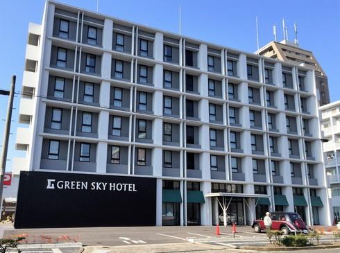 グリーンスカイホテル竹原、カープ愛が散りばめられた小さなホテル