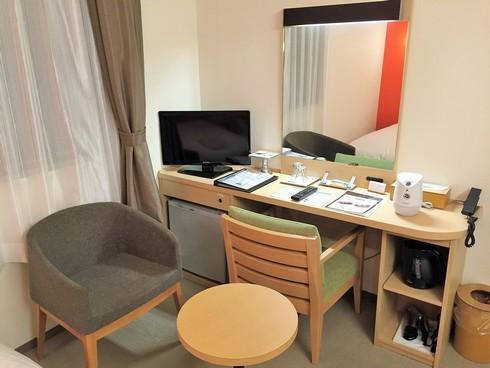 グリーンスカイホテル竹原のレディースルームの様子