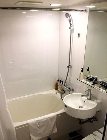竹原市・グリーンスカイホテル竹原の浴室