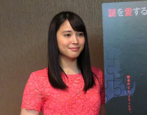広瀬アリス、探偵ミタライの事件簿 インタビュー