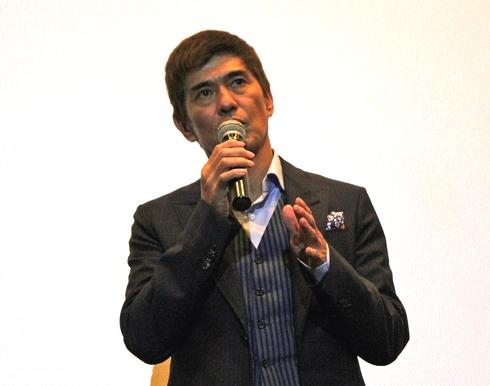 映画64ロクヨン 佐藤浩市の舞台挨拶