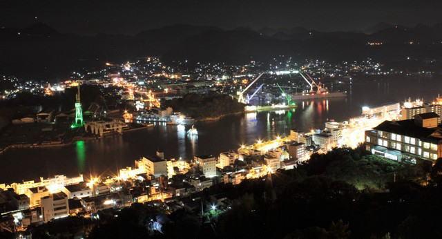 千光寺公園からの夜景 写真1