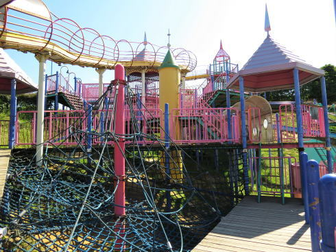 福山ファミリーパーク 複合遊具の写真3