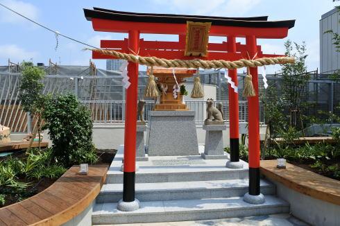 福屋屋上 神社