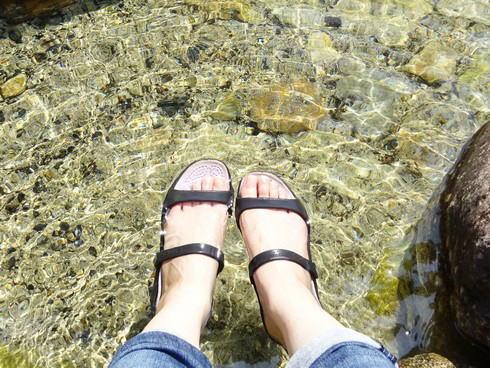 河佐峡 ジャブジャブ池2