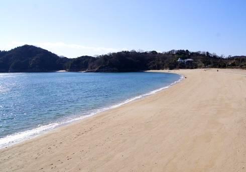 県民の浜、広島県呉市の美しいビーチ