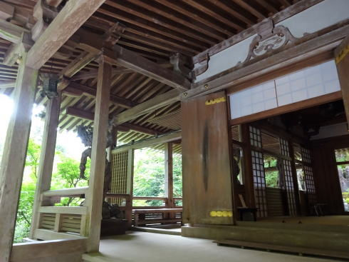 三瀧寺本堂の様子