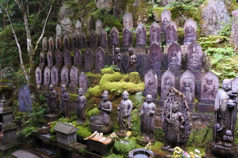 三瀧寺 境内の風景