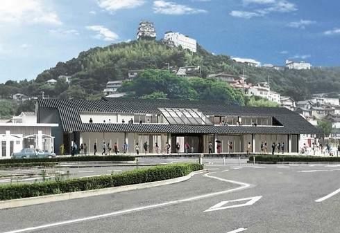 JR尾道駅を建て替え、駅直結の宿泊施設や展望デッキも