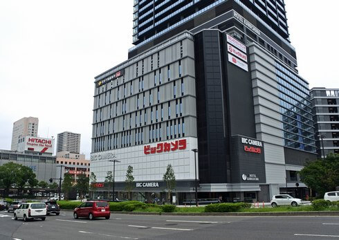 ビックカメラ広島駅前店がオープン