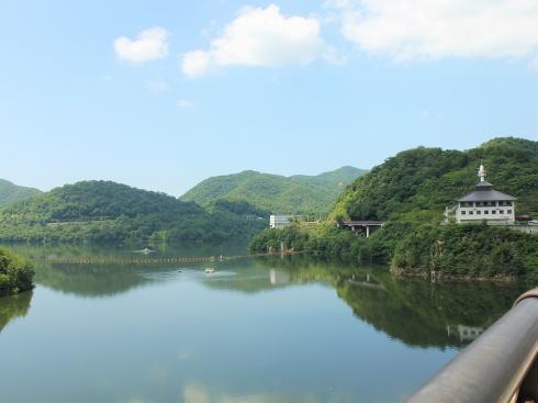 八田原ダム から見る芦田湖(世羅)