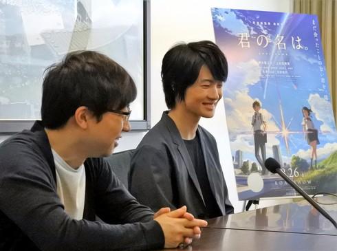 新海誠監督、神木隆之介インタビュー