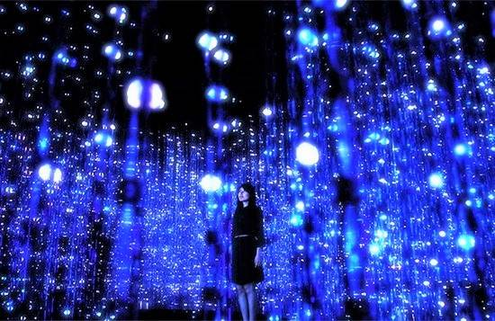 幻想的な最新デジタルアートが、広島の出会いを演出!