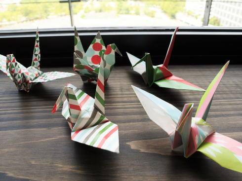 おりづるタワー オリジナル折り紙でおりづる