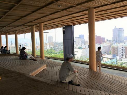 おりづるタワー 屋上からの景色3