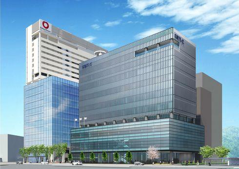 広島テレビ新社屋が2018年 駅北に完成、憩いスペースも