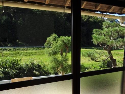 世羅 古民家カフェ ルポ(Cafe Repos)からの景色
