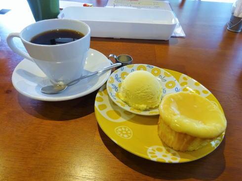 世羅 古民家カフェ ルポ(Cafe Repos) ケーキセット