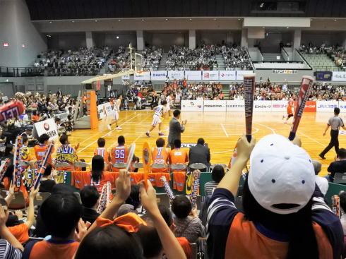 広島ドラゴンフライズ 試合風景3