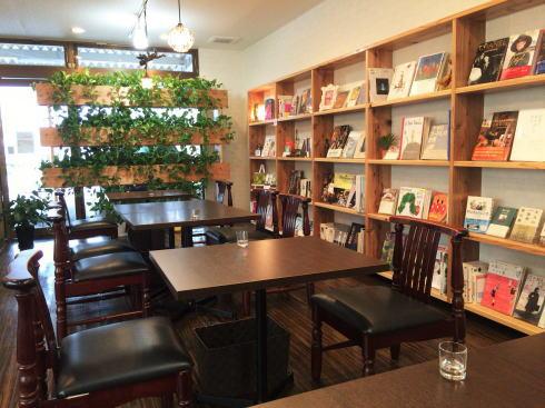 フルーツとカフェ メルシィ カフェコーナー