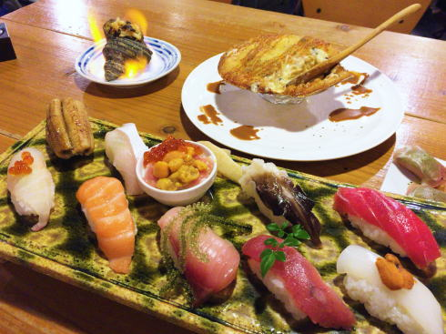 波平キッチン、広島駅ビルアッセで地魚つまみにワイワイ飲める店