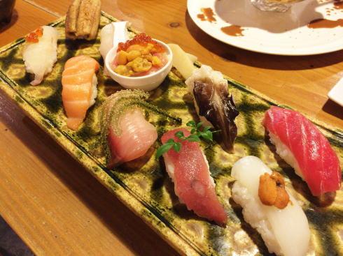 広島駅 波平キッチン おすすめにぎり鮨