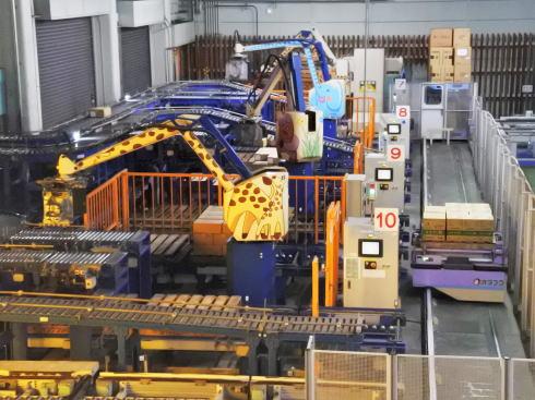 オタフクソース 工場見学の様子3
