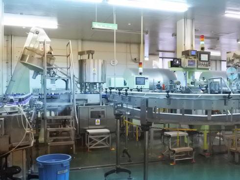 オタフクソース 工場見学で見られた製造ライン