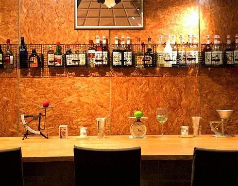 福山市 コージーカフェグレイス 店内カウンター