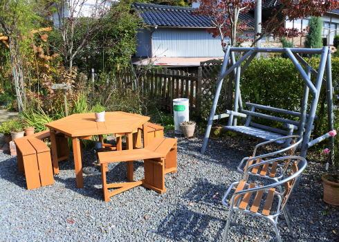 世羅 ガーデンカフェ イオ テラス席2