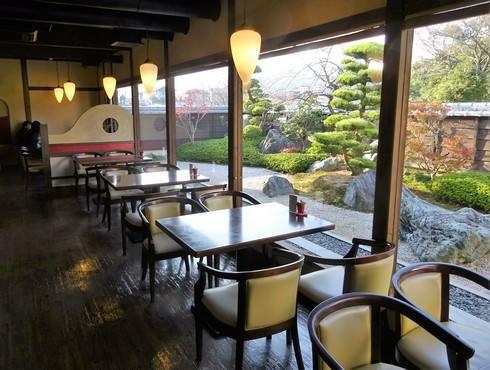 日本庭園のある和カフェ、珈琲 蔵人珈蔵