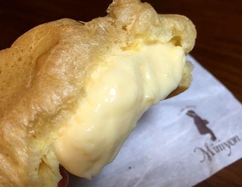 ミニヨン、シュークリームの人気店!しっとりレモンケーキも