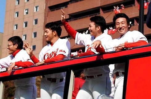 2016広島東洋カープ 優勝パレードの様子3