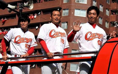 2016広島東洋カープ 優勝パレードの様子6