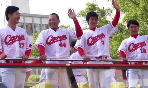 2016広島東洋カープ 優勝パレードの様子11