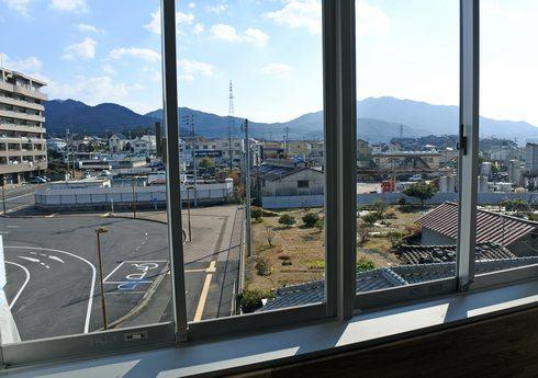 大野浦駅 南口の風景