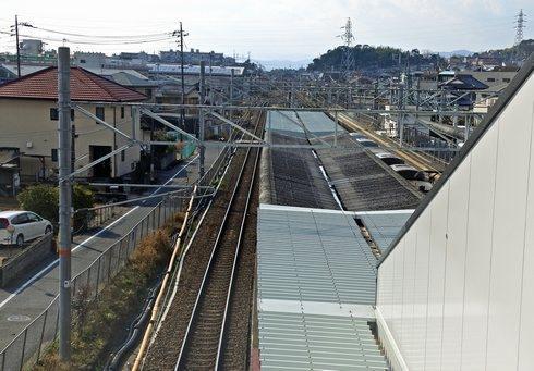 大野浦駅のホーム