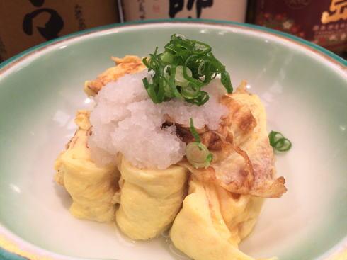 横川駅 楽多来屋(らくたきや) だし巻き卵