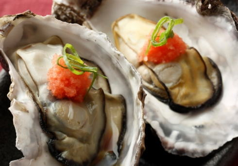 ヱビスバーエキシティ広島 牡蠣のイメージ