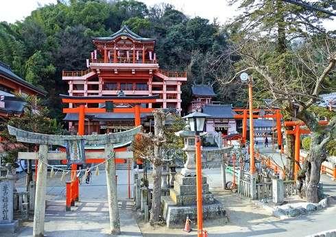 草戸稲荷神社、福山市の人気初詣スポット
