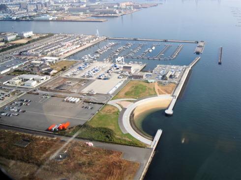広島西飛行場跡地に新たな野球場など4つのエリアが誕生