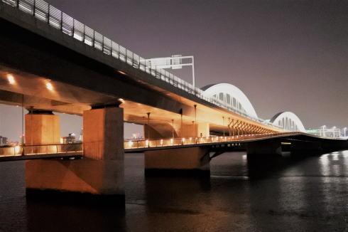 広島・太田川大橋が土木学会デザイン賞2016 最優秀賞に