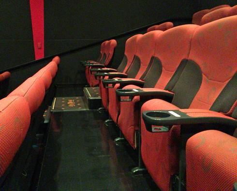 TOHOシネマズ緑井の座席
