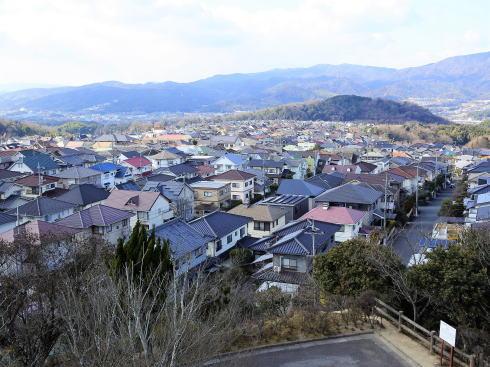 明王台展望台(配水池)から見た福山の風景2
