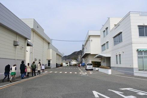 アヲハタの工場見学