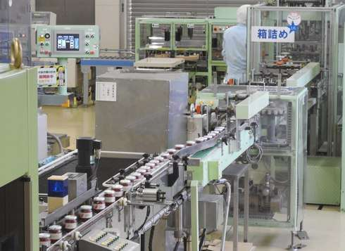 アヲハタ 工場見学の様子