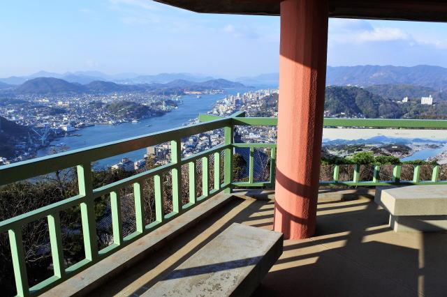 浄土寺山展望台の上の様子2