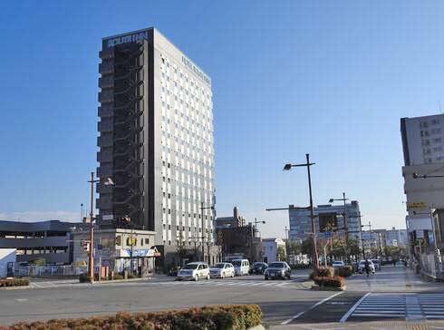 ホテルルートイン東広島西条駅前、JR駅から徒歩5分でWOWOW無料視聴サービスも