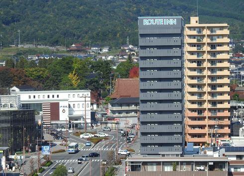 ホテルルートイン東広島西条駅前、好立地のビジネスホテル 無料駐車場も